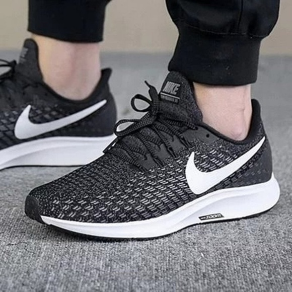 promo code 1416d b28df Nike Women s Air Zoom Pegasus Knit Lace Up Sneaker.  M 5b75f7999539f7cf9af85dce